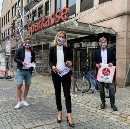 ClubCommunity Masken für Marktbesucher in Hersbruck